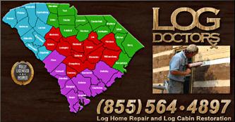 South Carolina Log Home Repair
